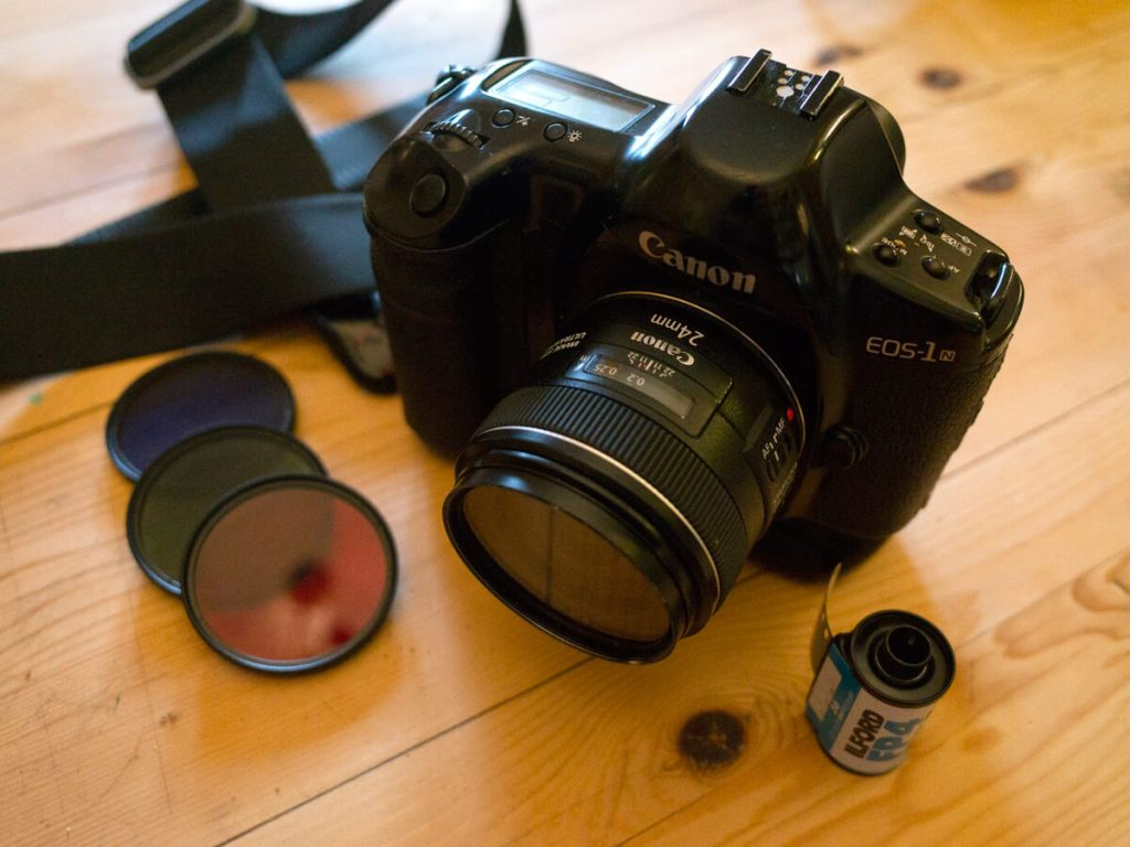 My Canon EOS 1n + Canon EF 24mm f2.8,  Anthony Pearson