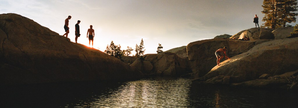 5 Frames... From a Hasselblad XPan at Lake Aloha on Kodak Portra 800 (35mm Format / EI 800) - by Brian Fulda
