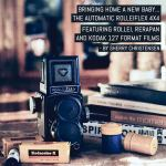 Bringing home a new baby... The Automatic Rolleiflex 4x4 (featuring Rollei, ReraPan and Kodak 127 format films) - by Sherry Christensen