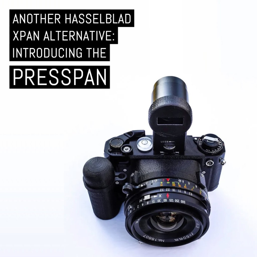 Another Hasselblad XPan alternative: Introducing the PressPan