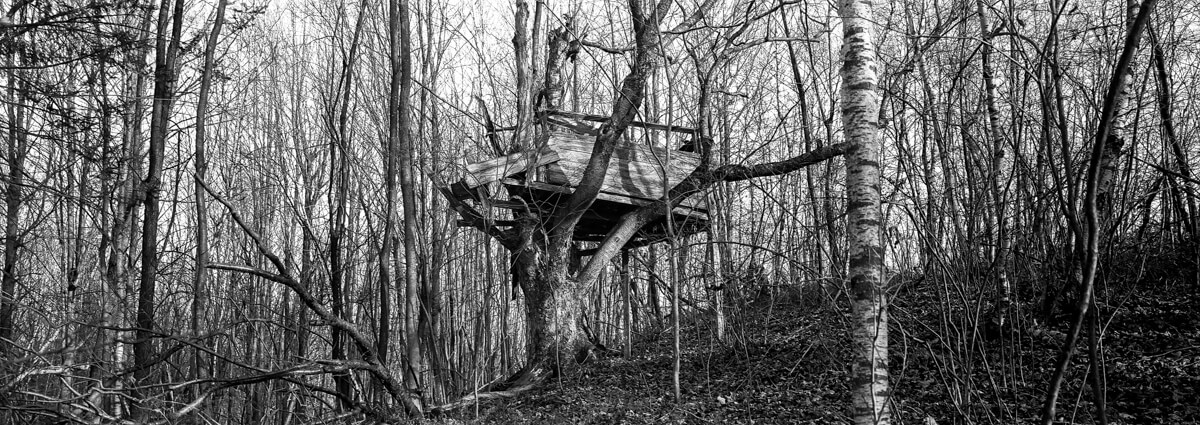 Old treehouse - PressPan