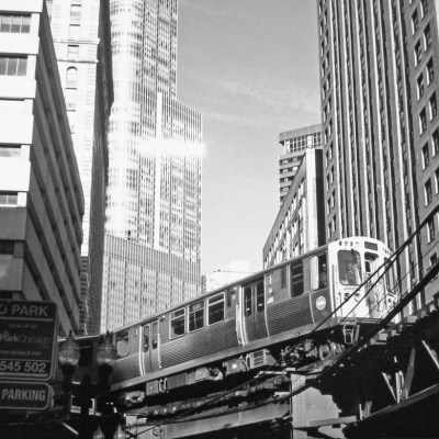 The Loop - 5 Frames... Of Chicago on Kodak T-MAX 400 (EI 400 / 35mm Format / Chinon 3001) - by Ken Rowin