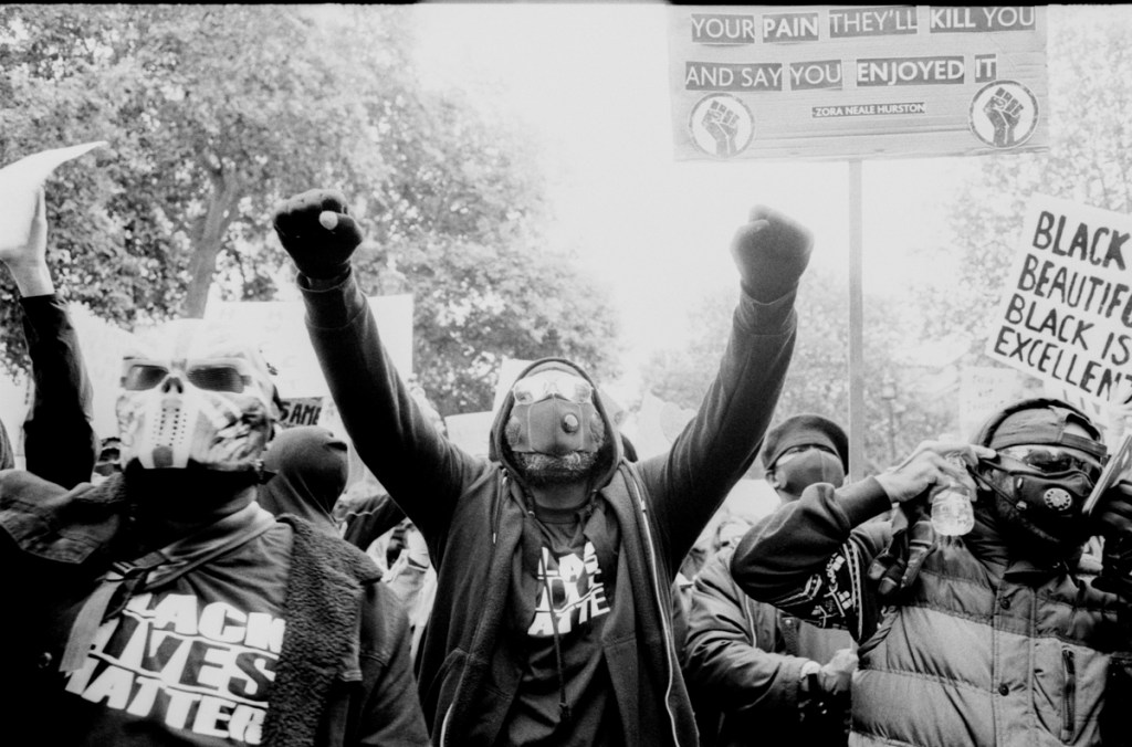Working the Scene from Four Different Perspectives: Protest Photography - by New Exit Photography Group