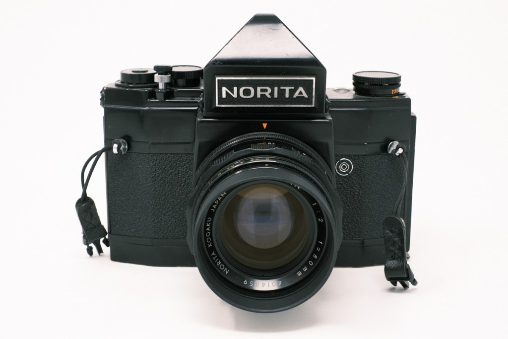 Norita 66 camera with non-metered Pentaprism - Front