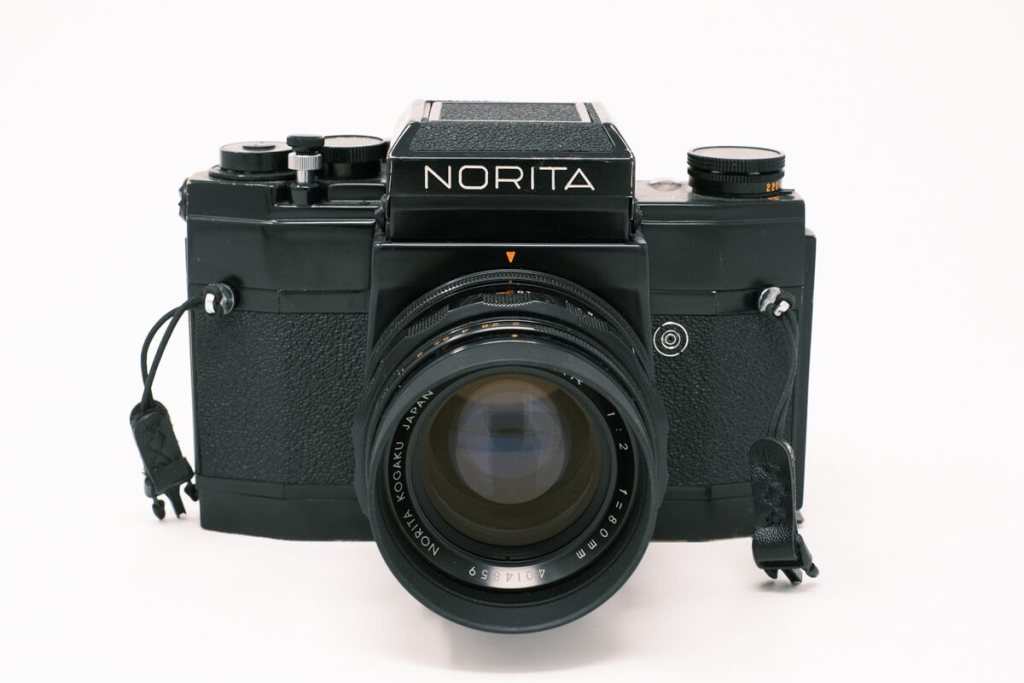 Norita 66 camera with waist level finder - Front