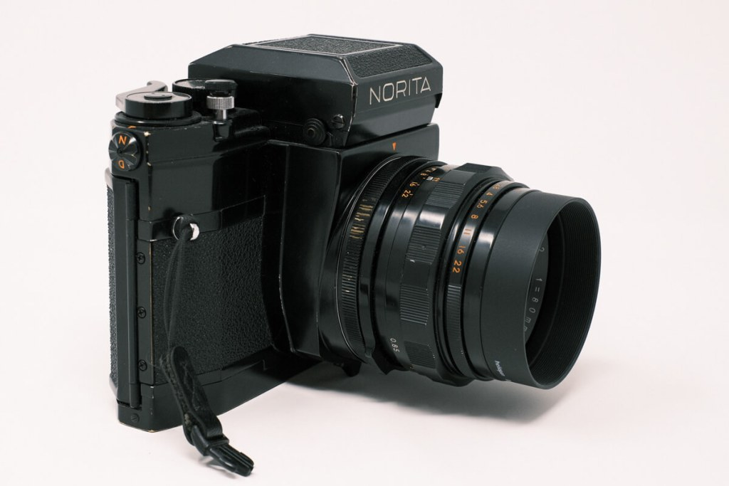 Norita 66 camera with waist level finder - Right