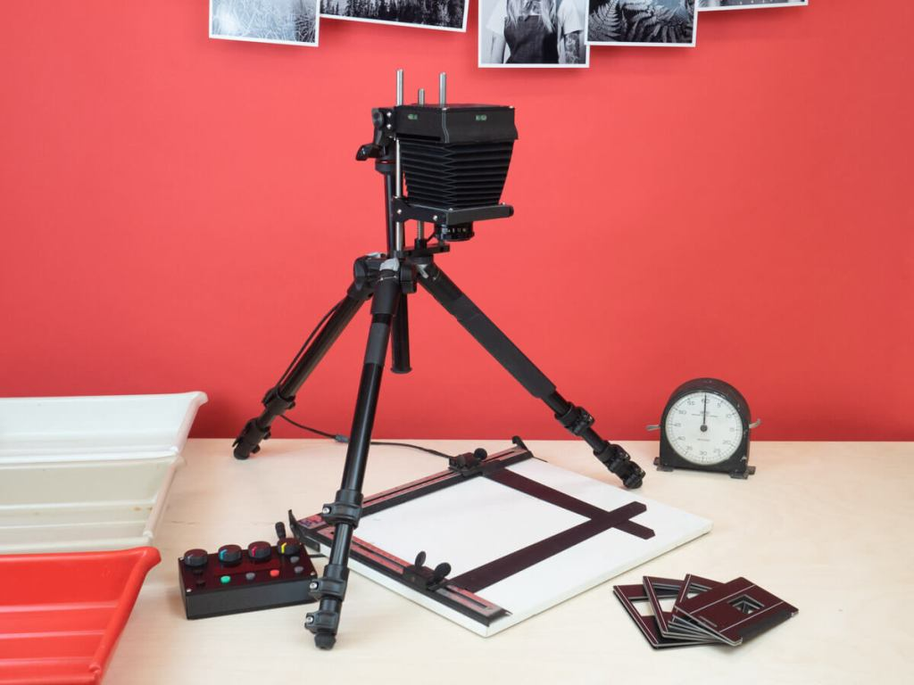 All set up - The 35mm & 120 Intrepid Colour Enlarger