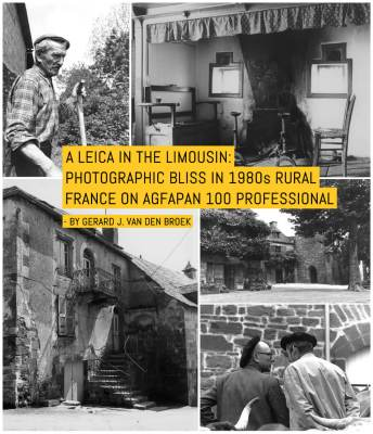 A Leica in the Limousin: Photographic Bliss in 1980s Rural France on Agfapan 100 Professional