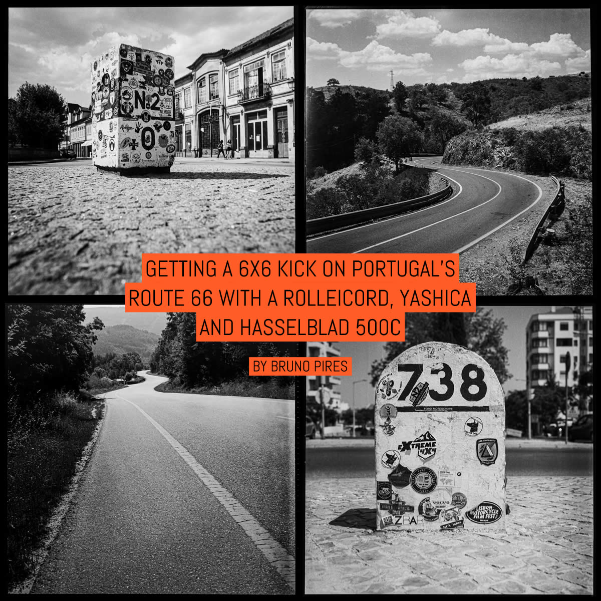 Cover - Getting a 6x6 kick on Portugal's Route 66 with a Rolleicord, Yashica and Hasselblad 500C