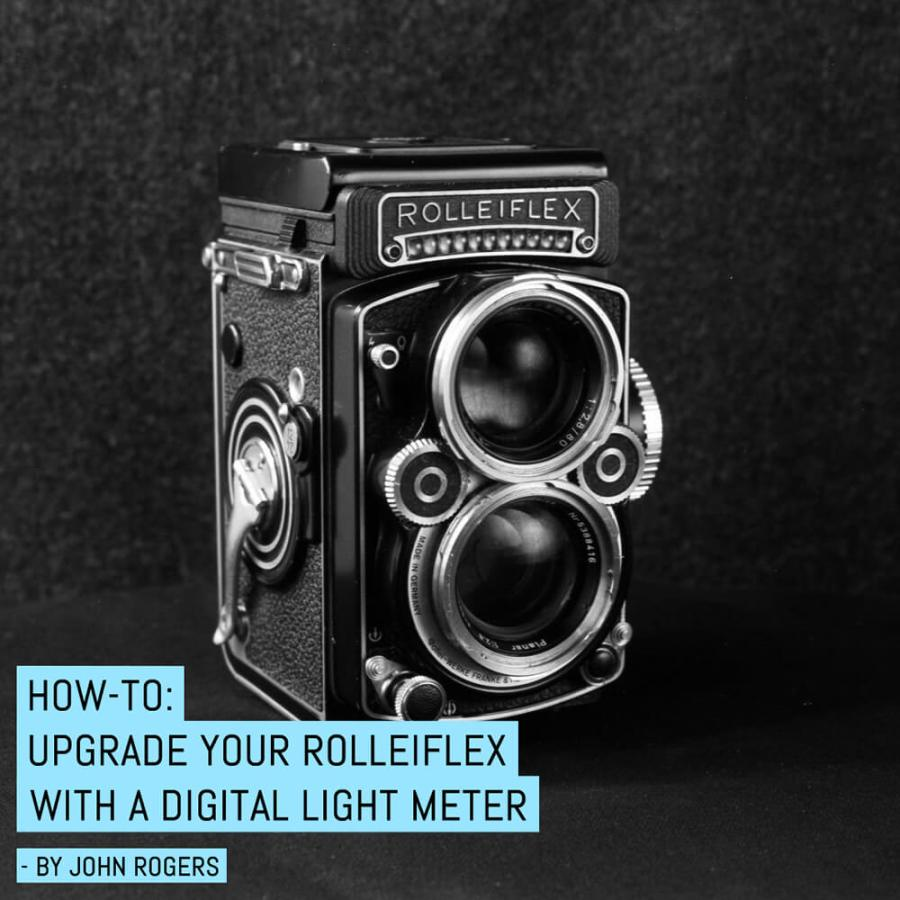 How-to: Upgrade your Rolleiflex at home with a digital light meter