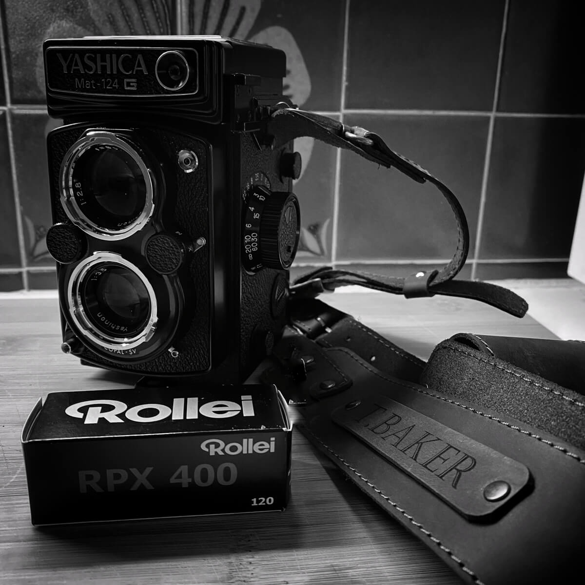 Rollei RPX 400 and a Yashica Mat-124G, Tim Baker