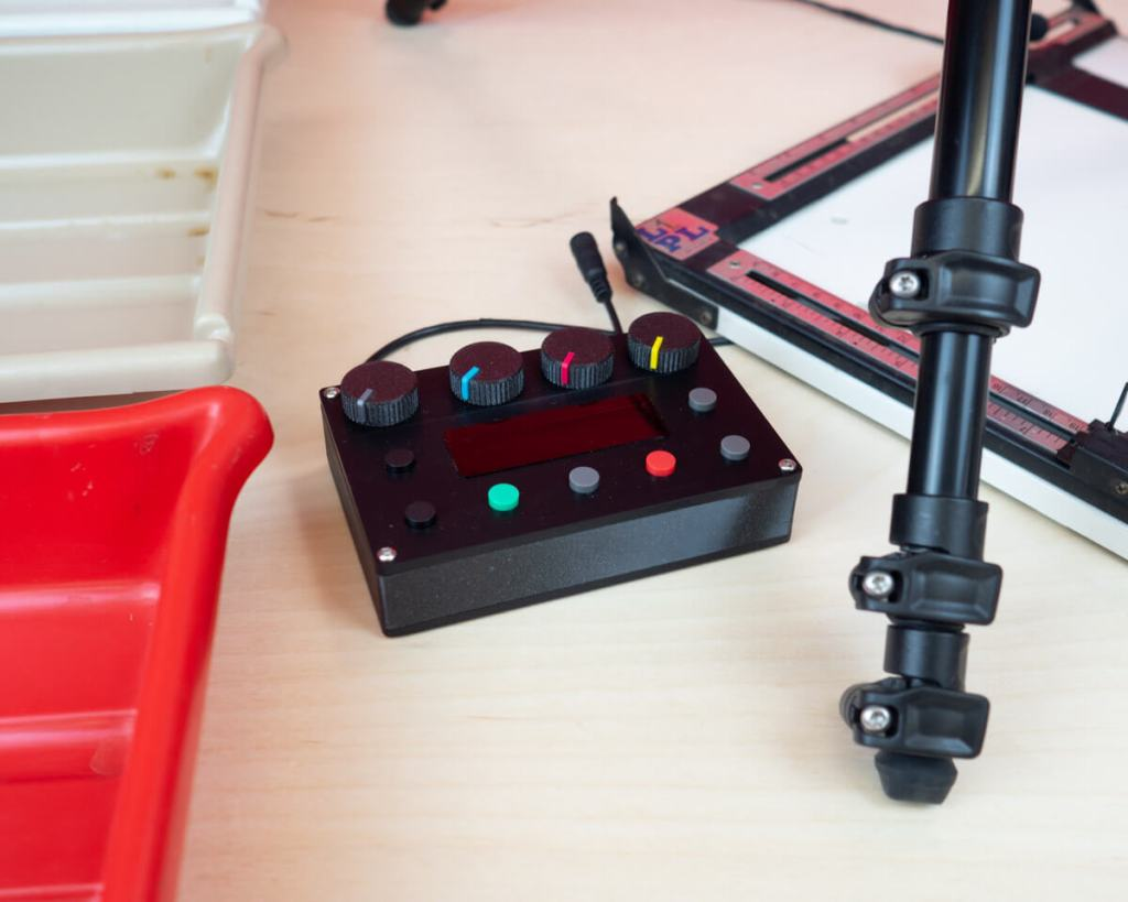Timer and control module - The 35mm & 120 Intrepid Colour Enlarger
