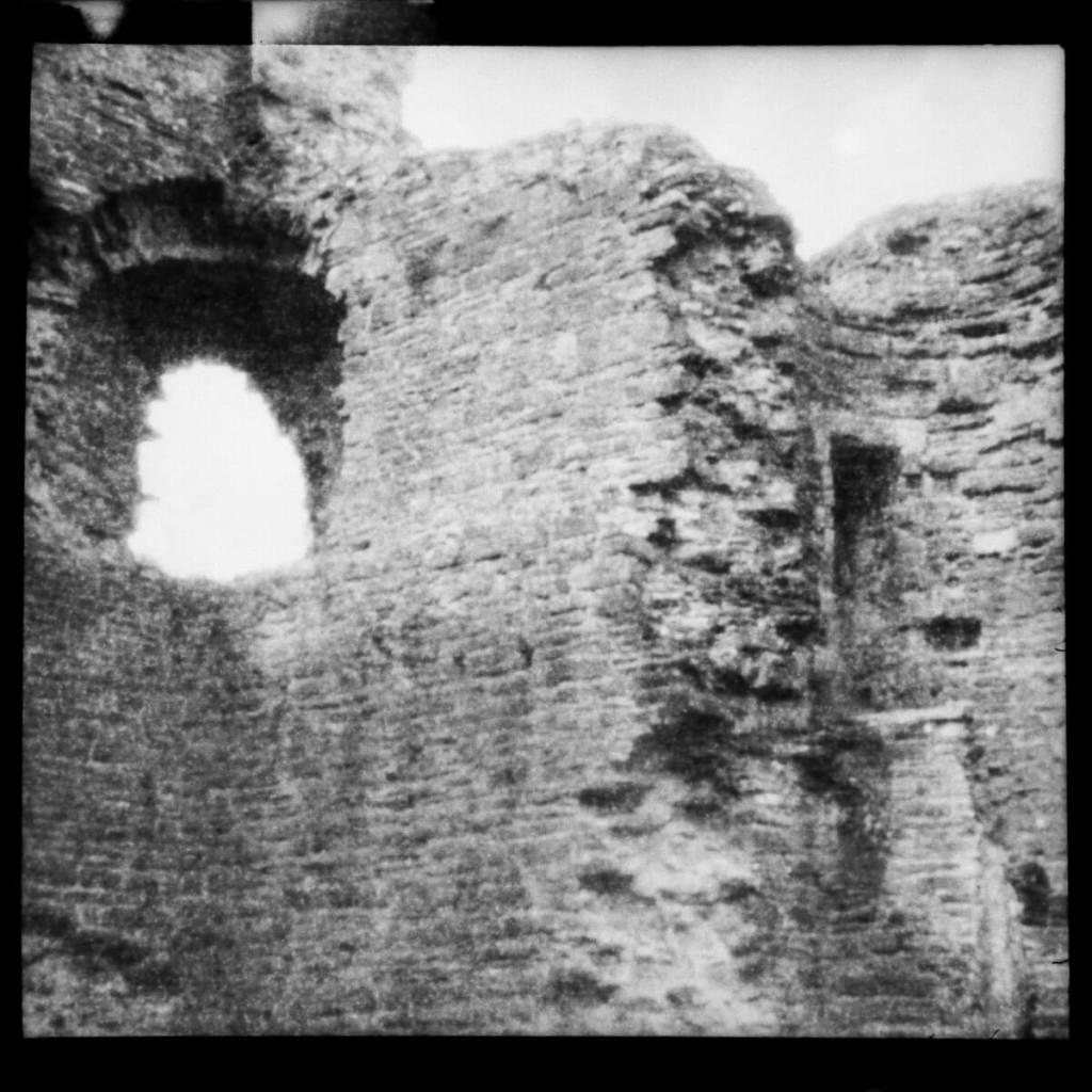 The Ruin - ILFORD Pan F PLUS