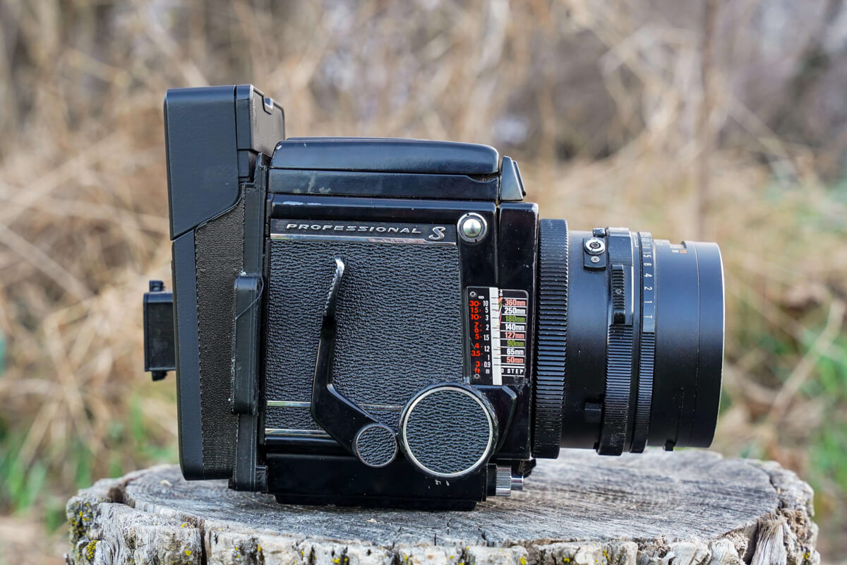 My Mamiya RB67 with Analogue Studio Polaroid conversion kit installed