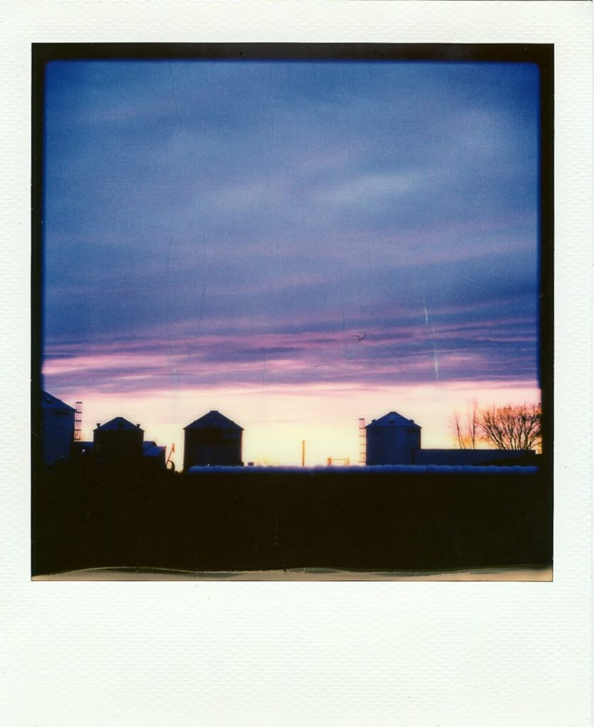 More Polaroid sheets through the Instant Lab
