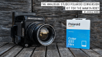 The Analogue Studio Polaroid conversion kit for the Mamiya RB67