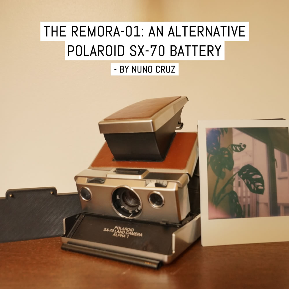 The Remora-01: An alternative Polaroid SX-70 battery