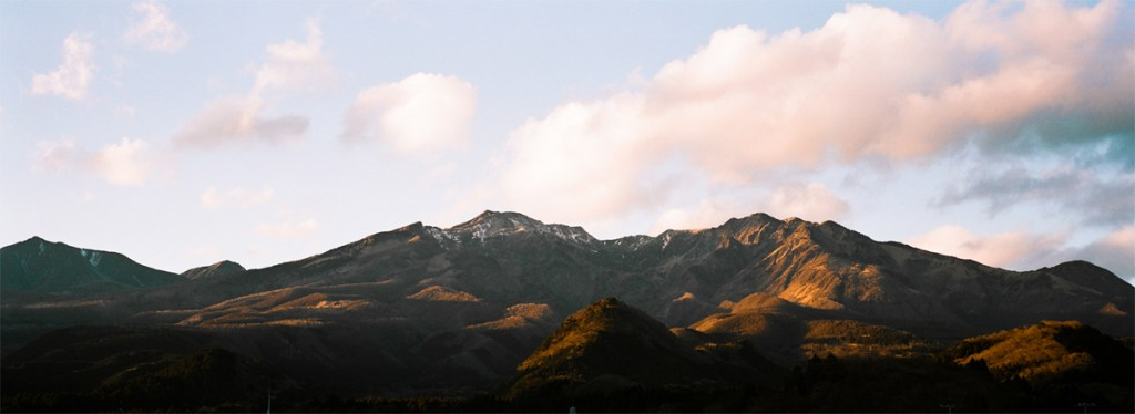 The mountains of Nikko