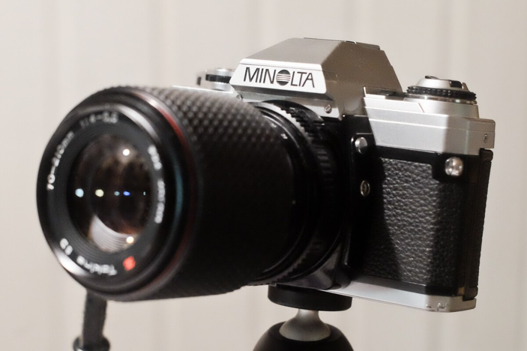 My Minolta X-300 + Tokina SD 70-210mm f/4-5.6, by Olaf Lengler