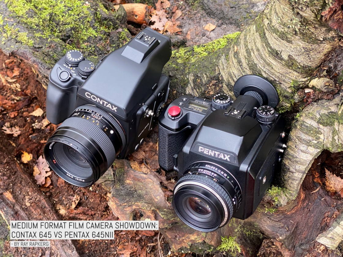 Medium format film camera showdown: Contax 645 vs Pentax 645NII