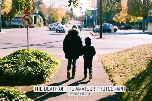 The death of the amateur photograph