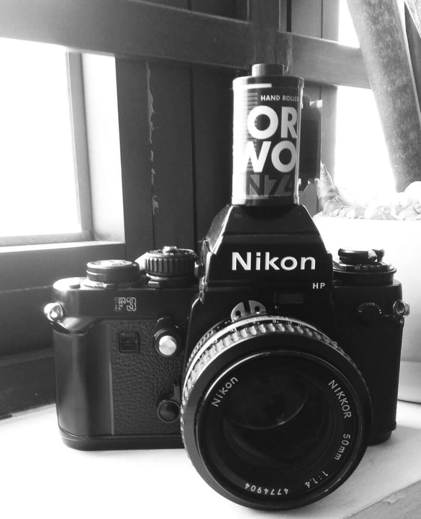 ORWO N74, my Nikon F3HP and Nikkor 50mm f/1.4 AI-S, Sasi Somu