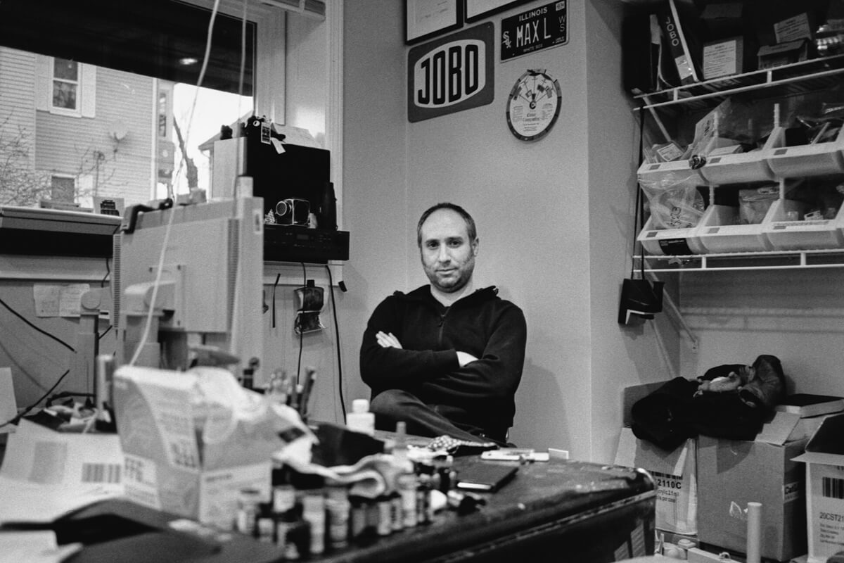 Omer Hecht ILFORD HP5 PLUS