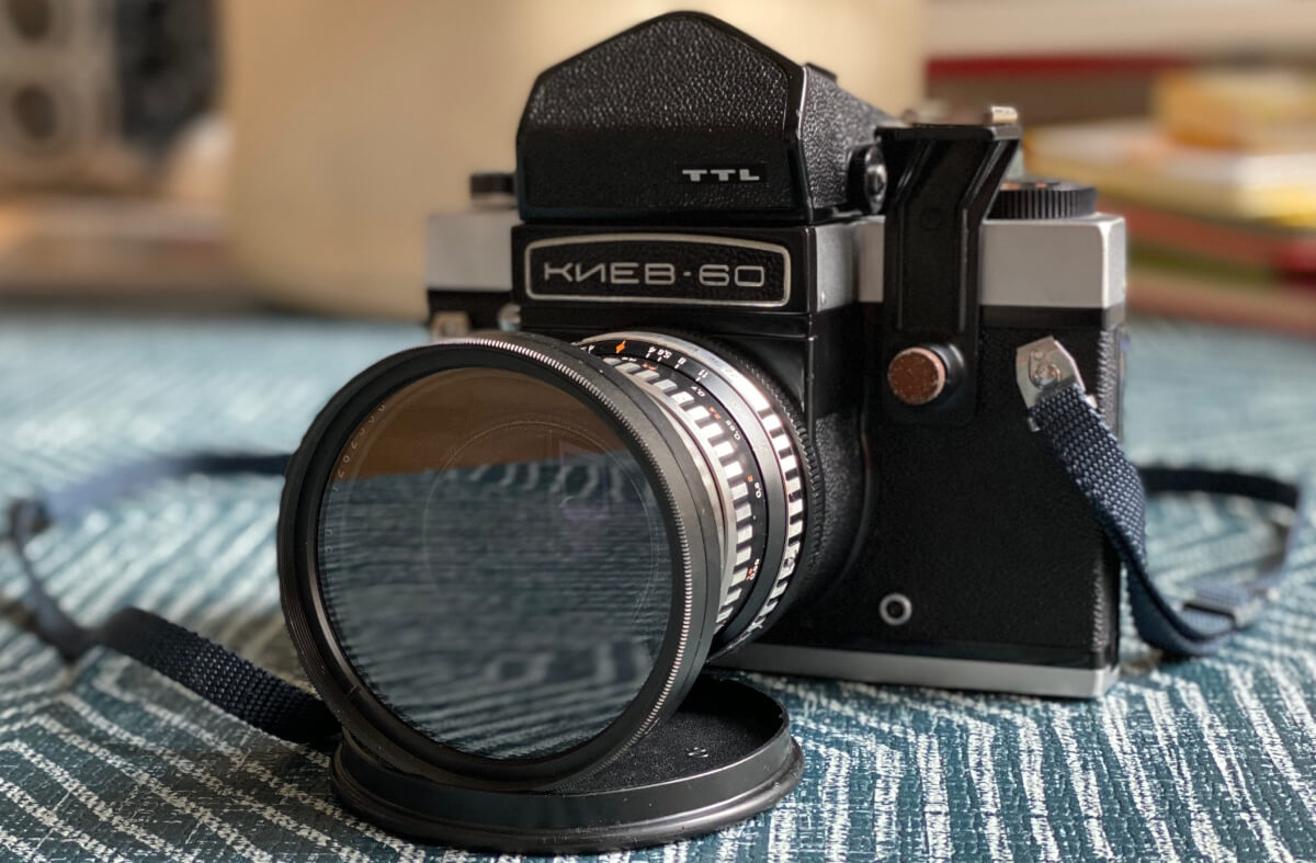 The Kiev 60 in all its mighty glory