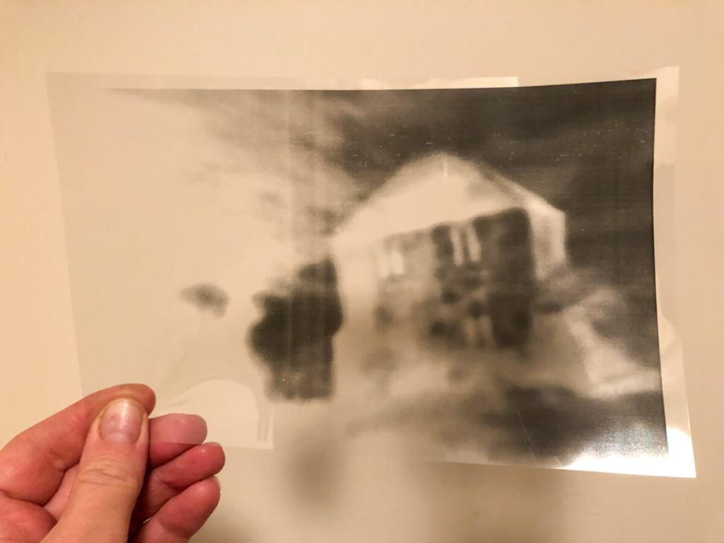 The Lonely House - Acetate Negative