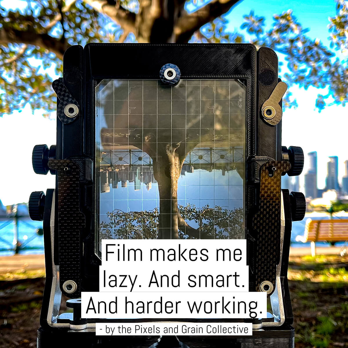 Cover -Film makes me lazy. And smart. And harder working.