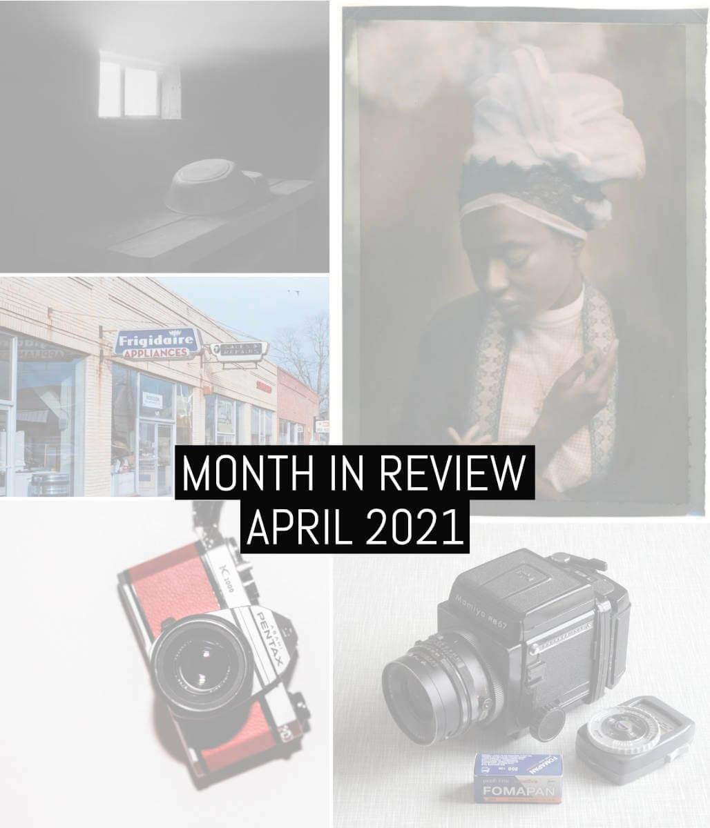 Cover - Month in review - 2021 April